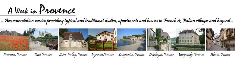 Holidays and accommodation in Europe, France and Italy